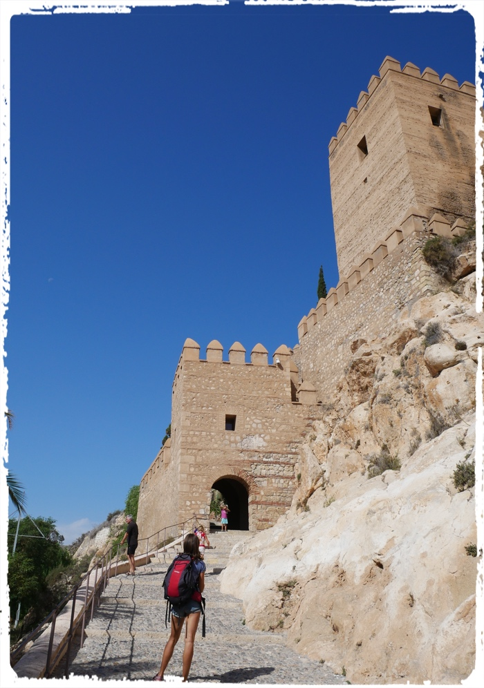 Moorish castles are to be seen along the whole southern Spain