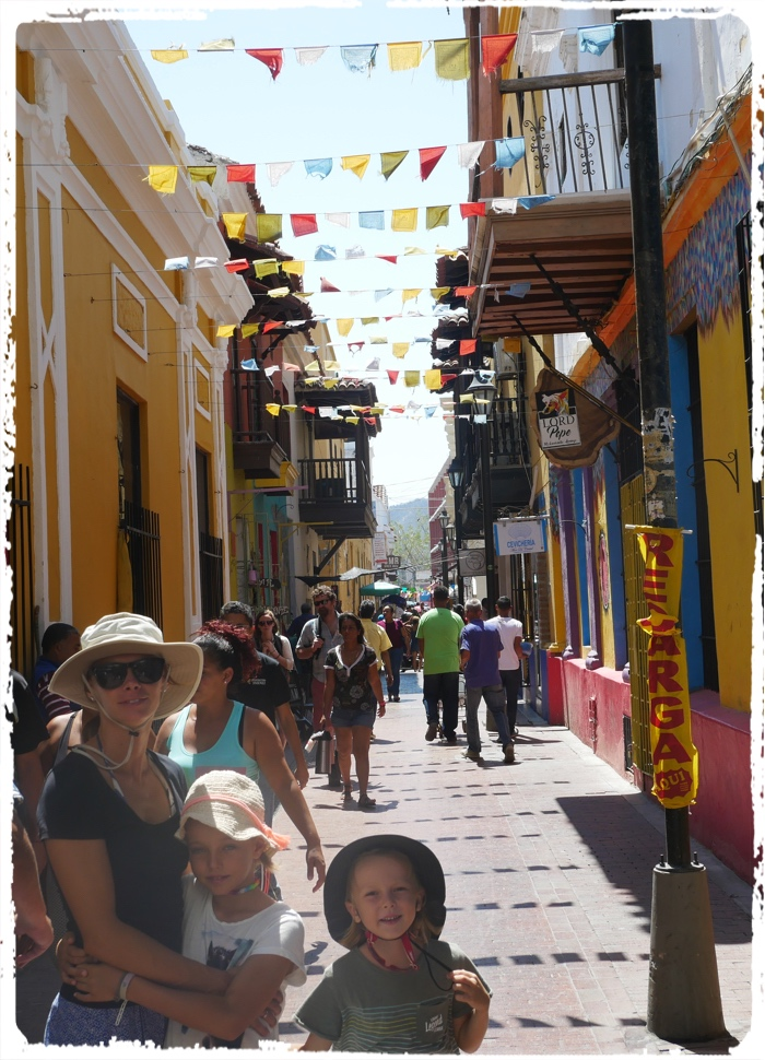 Lively and lovely streets in Santa Marta