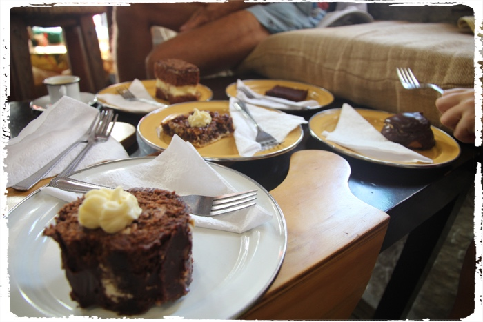 We will just say, njami! The pecan pie in the middle won! Photo credit: Anckapomarancka