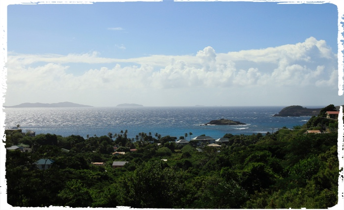 View from Bequia to the Grenadines